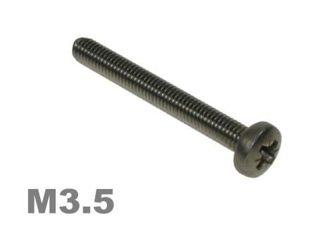 Picture for category M3.5 Pozi Pan Machine Screw Zinc Finish