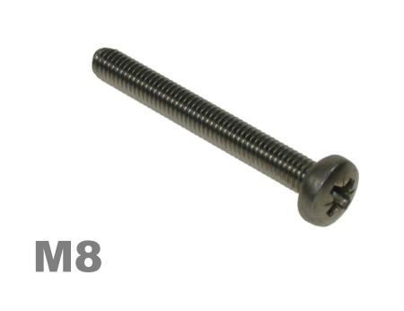 Picture for category M8 Pozi Pan Machine Screw Zinc Finish