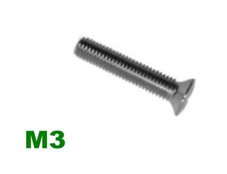 Picture for category M3 Pozi Raised Csk Machine Screw A2 Stainless