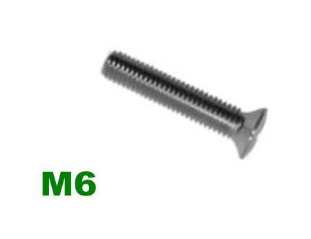 Picture for category M6 Pozi Raised Csk Machine Screw A2 Stainless
