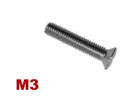 Picture for category M3 Pozi Raised Csk Machine Screw A4 Stainless