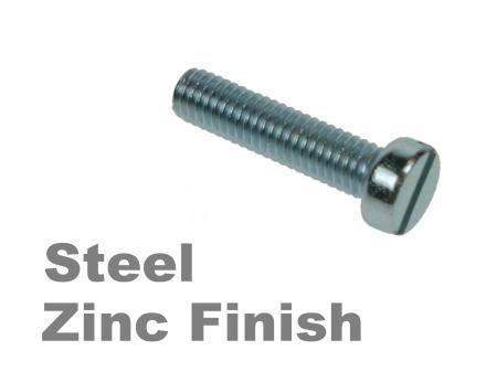 Picture for category Slotted Cheese Machine Screws Zinc Finish