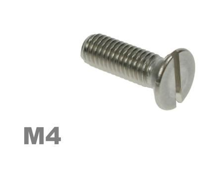 Picture for category M4 Slotted Csk Machine Screw Zinc Finish