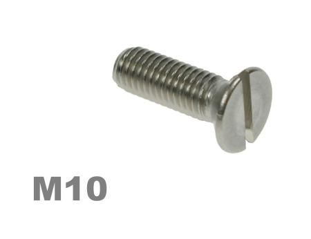 Picture for category M10 Slotted Csk Machine Screw Zinc Finish