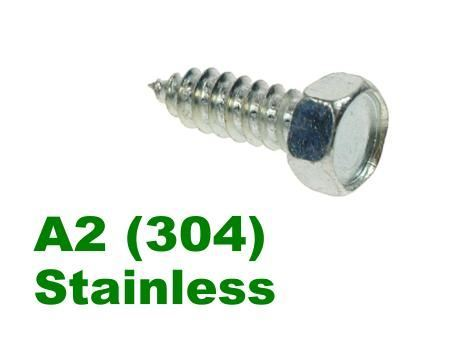 Picture for category Hex Self Tapper A2 Stainless