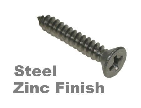 Picture for category Pozi Csk Self Tapper Steel Zinc Finish