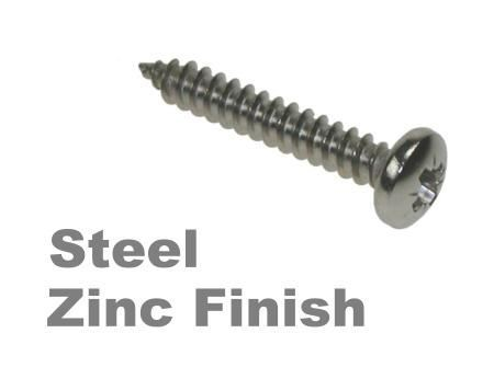 Picture for category Pozi Pan Self Tapper Steel Zinc Finish