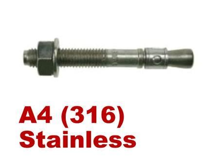 Picture for category Throughbolt A4 Stainless