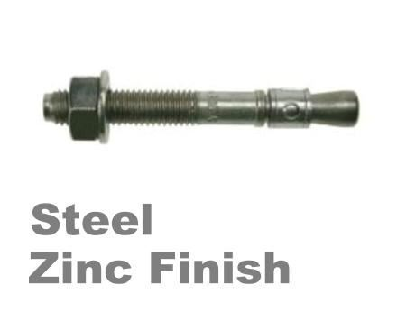 Picture for category Throughbolt Steel Zinc Finish